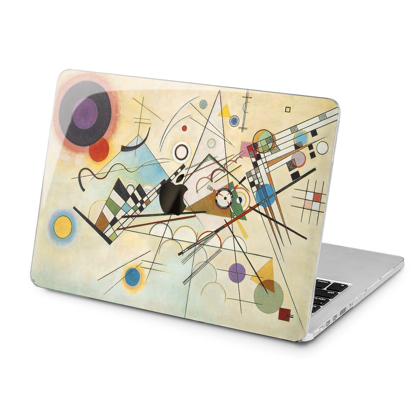 Lex Altern Lex Altern Kandinsky Art Case for your Laptop Apple Macbook.