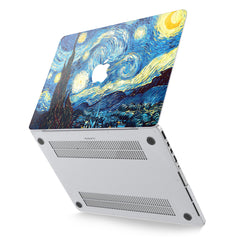 Lex Altern Hard Plastic MacBook Case Starry Night