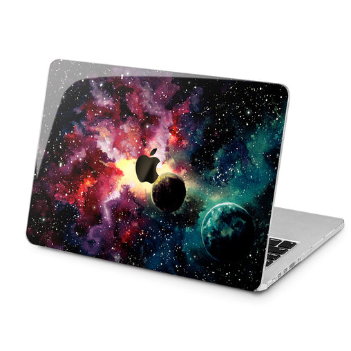 Lex Altern Lex Altern Watercolor Galaxy Case for your Laptop Apple Macbook.
