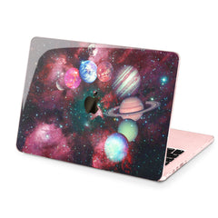Lex Altern Hard Plastic MacBook Case Galaxy Planets