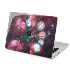 Lex Altern Lex Altern Galaxy Planets Case for your Laptop Apple Macbook.