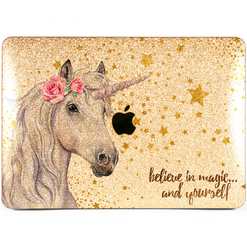 Lex Altern MacBook Glitter Case Magic Unicorn