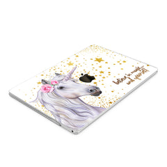 Lex Altern Hard Plastic MacBook Case Magic Unicorn