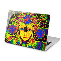 Lex Altern Lex Altern Psychedelic Art Case for your Laptop Apple Macbook.