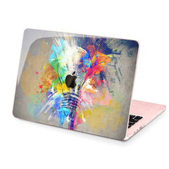 Lex Altern Hard Plastic MacBook Case Colorful Bulb