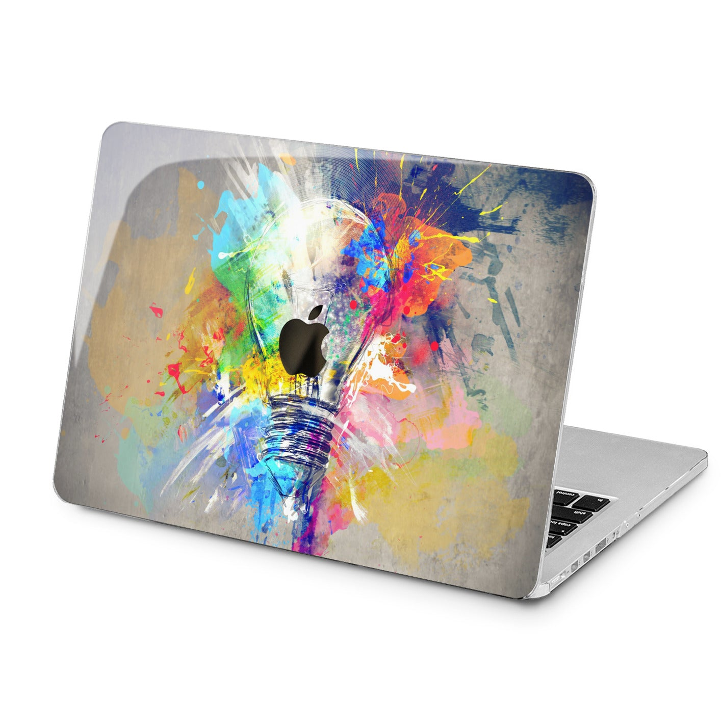 Lex Altern Lex Altern Colorful Bulb Case for your Laptop Apple Macbook.