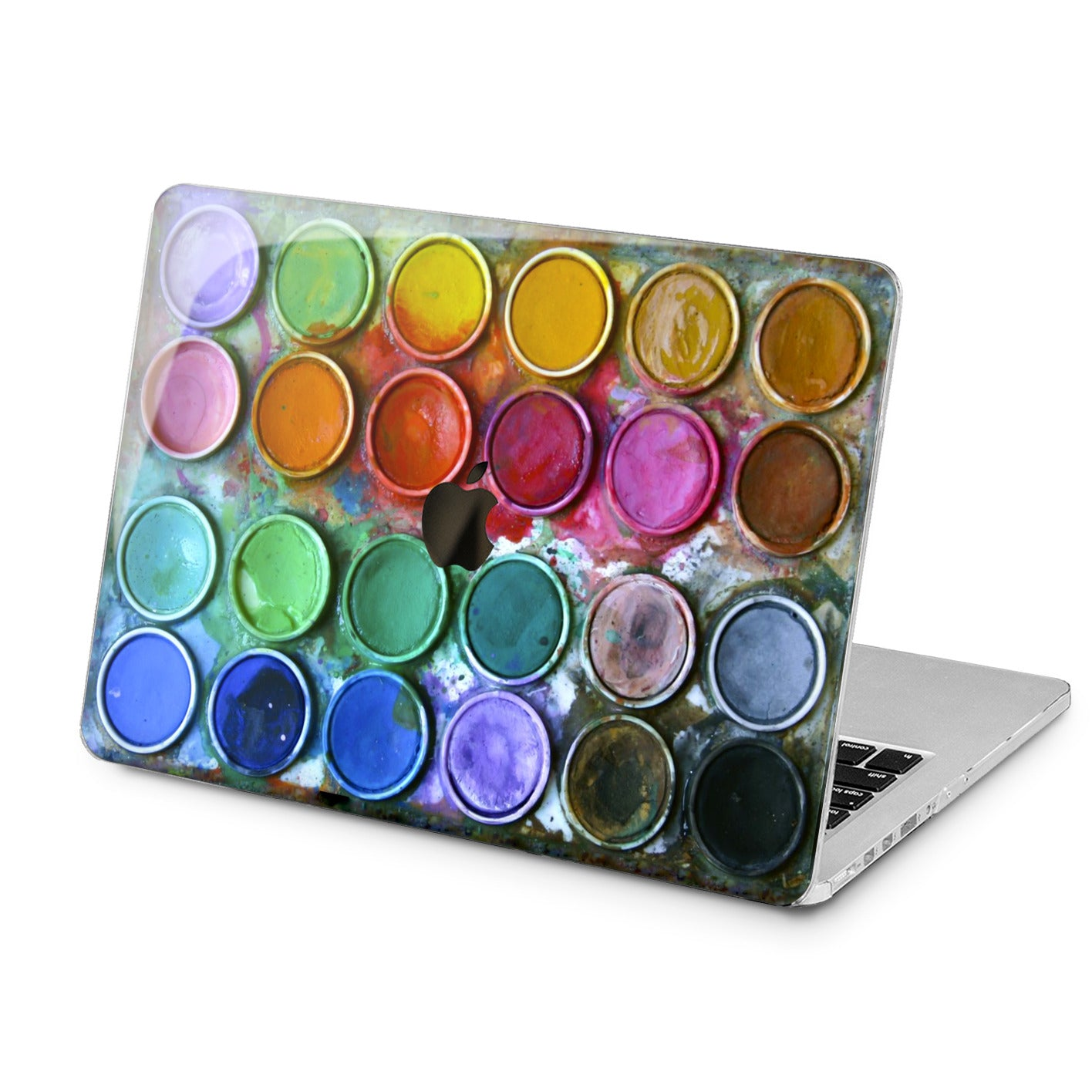 Lex Altern Lex Altern Paint Palette Case for your Laptop Apple Macbook.