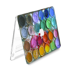 Lex Altern Hard Plastic MacBook Case Paint Palette