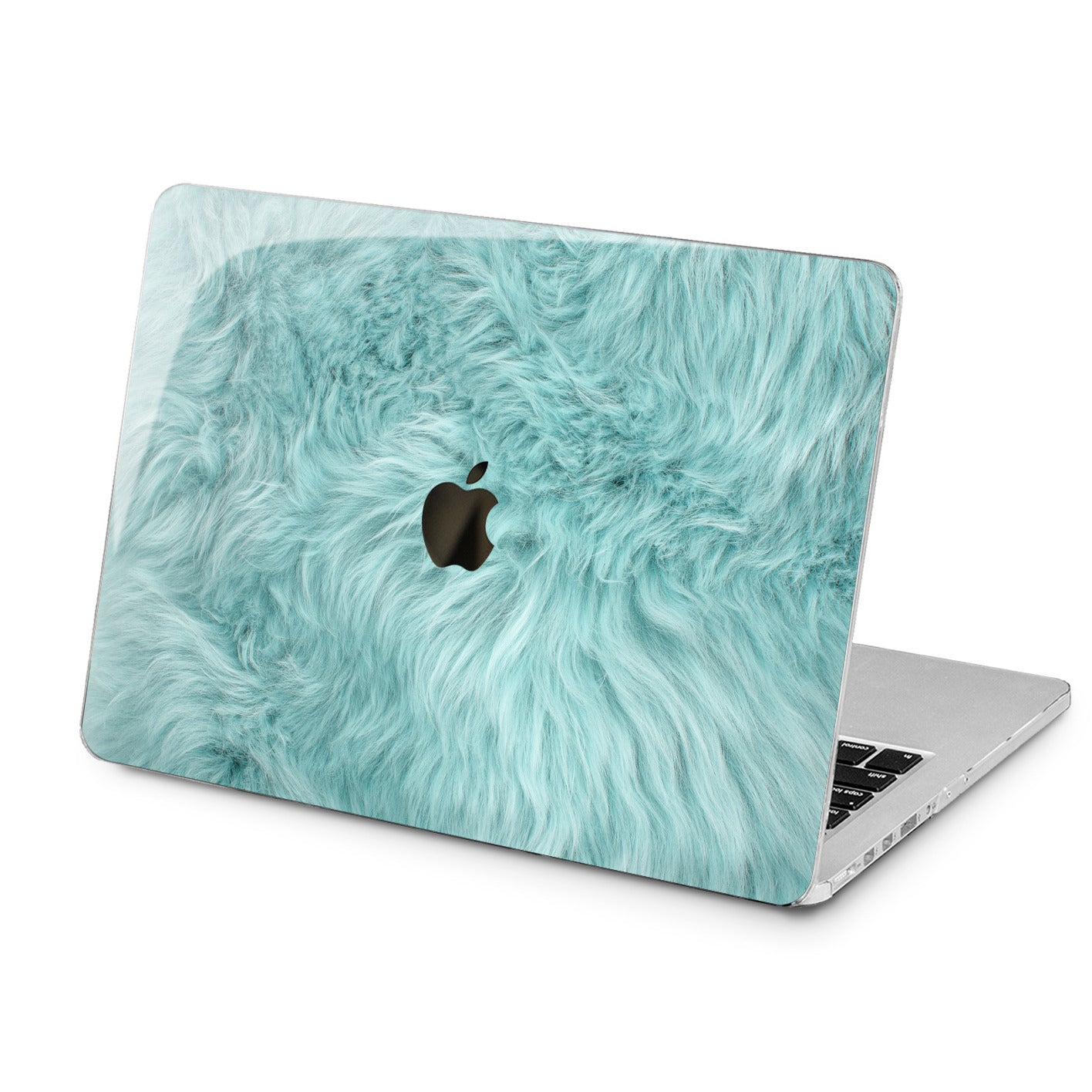 Lex Altern Lex Altern Blue Fur Case for your Laptop Apple Macbook.
