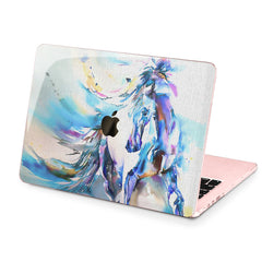 Lex Altern Hard Plastic MacBook Case Horse Watercolor