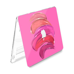 Lex Altern Hard Plastic MacBook Case Pink Paint