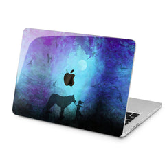 Lex Altern Lex Altern Girl and Wolf Case for your Laptop Apple Macbook.