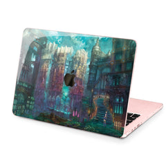Lex Altern Hard Plastic MacBook Case Fairytale Castle