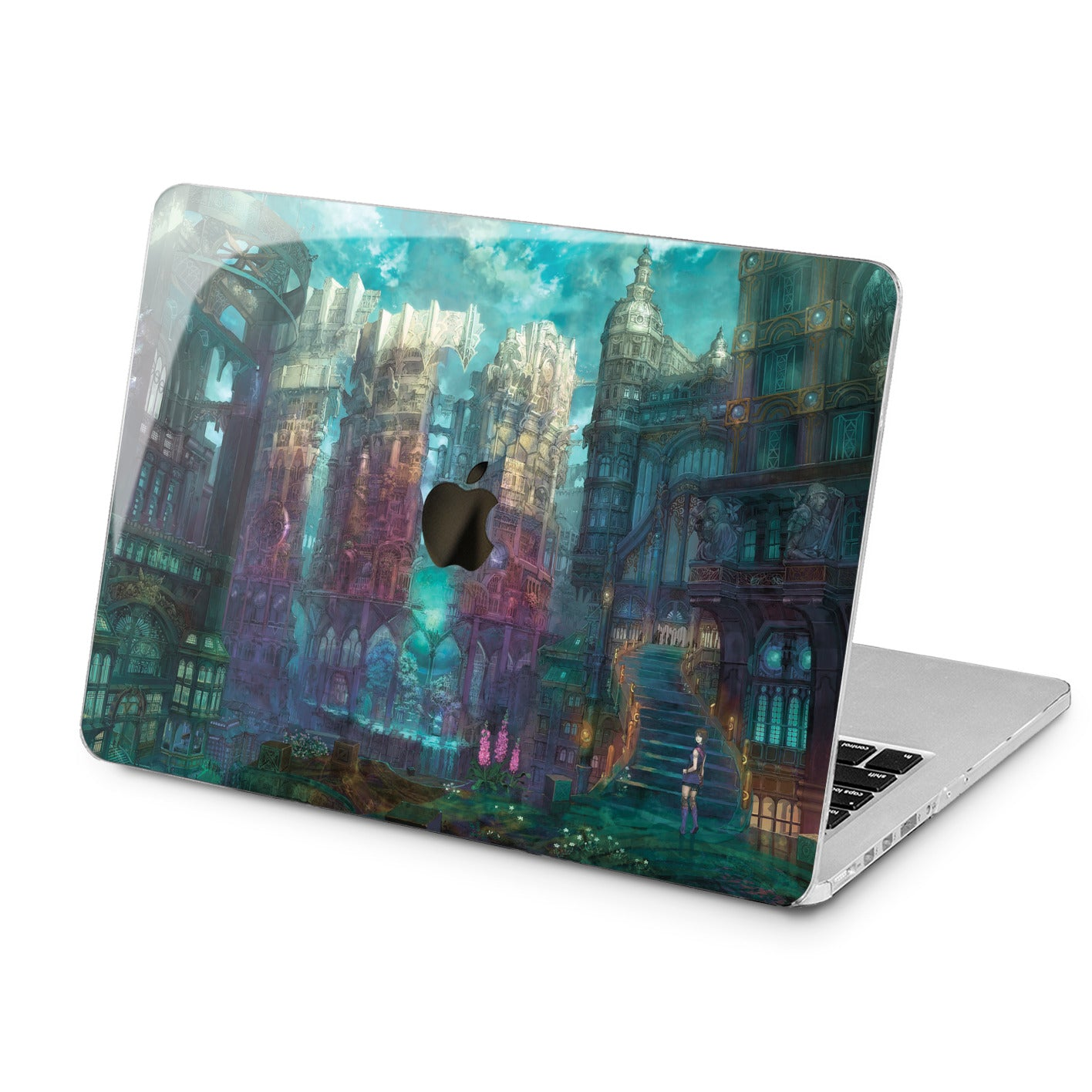 Lex Altern Lex Altern Fairytale Castle Case for your Laptop Apple Macbook.