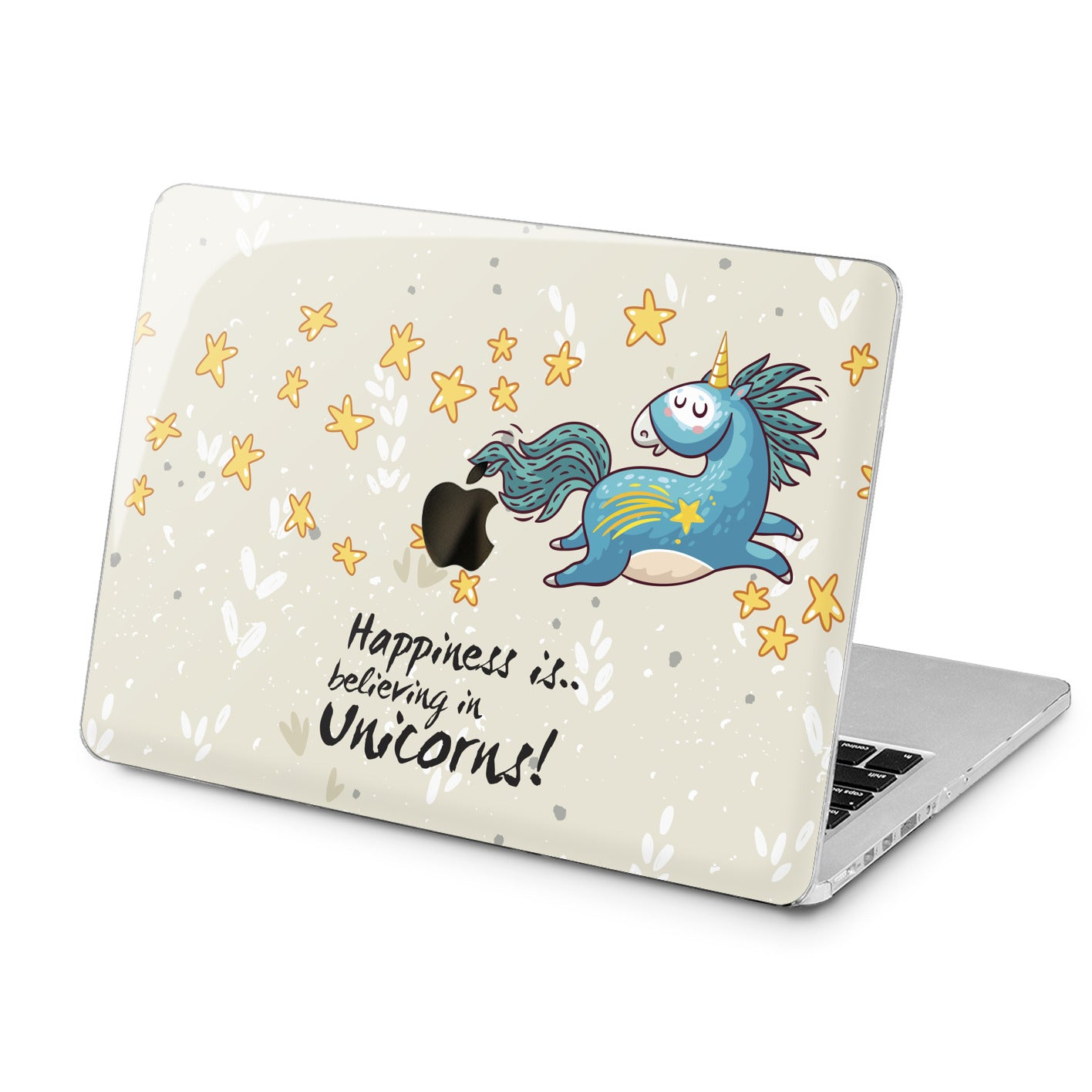 Lex Altern Lex Altern Happy Unicorn Case for your Laptop Apple Macbook.