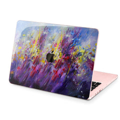Lex Altern Hard Plastic MacBook Case Painted Wildflowers