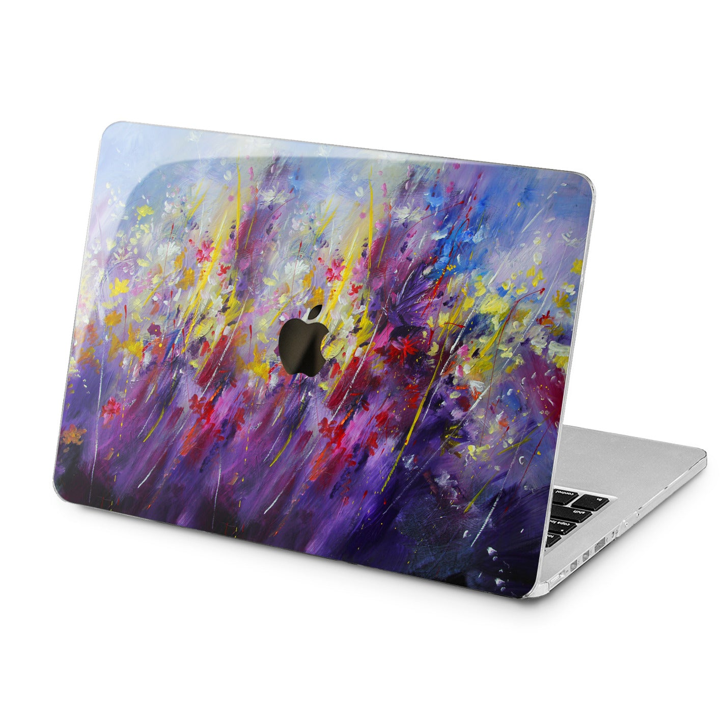 Lex Altern Lex Altern Painted Wildflowers Case for your Laptop Apple Macbook.