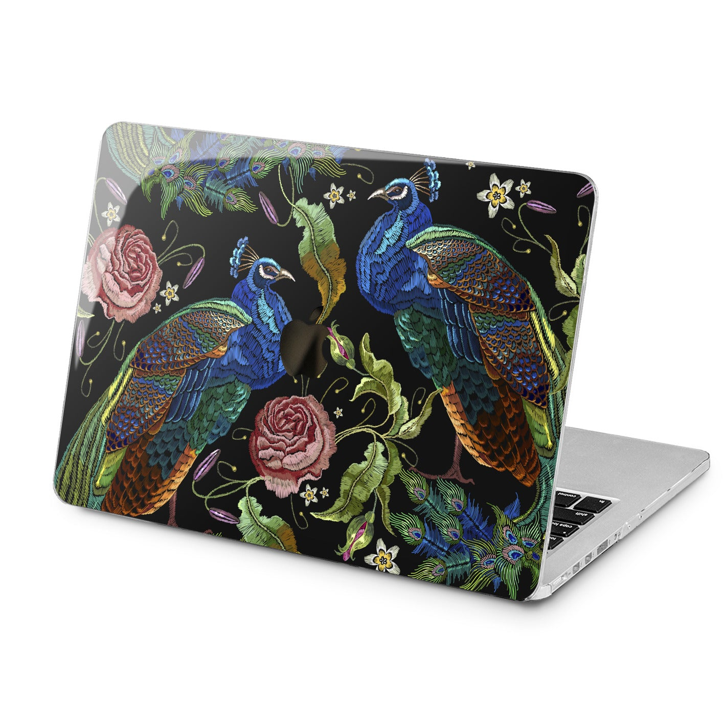 Lex Altern Lex Altern Floral Peacock Case for your Laptop Apple Macbook.
