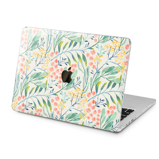 Lex Altern Lex Altern Wildflower Pattern Case for your Laptop Apple Macbook.