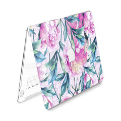 Lex Altern Hard Plastic MacBook Case Puzzle Blossom