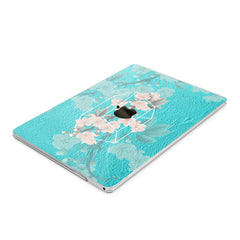 Lex Altern Hard Plastic MacBook Case Cherry Bloom