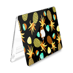 Lex Altern Hard Plastic MacBook Case Pineapple Pattern