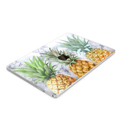 Lex Altern Hard Plastic MacBook Case Marble Pineapple