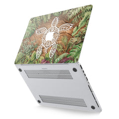Lex Altern Hard Plastic MacBook Case Exotic Turtle