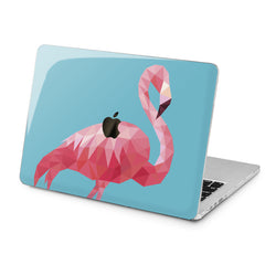 Lex Altern Lex Altern Abstract Flamingo Case for your Laptop Apple Macbook.