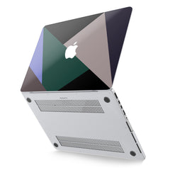 Lex Altern Hard Plastic MacBook Case Triangle Shapes