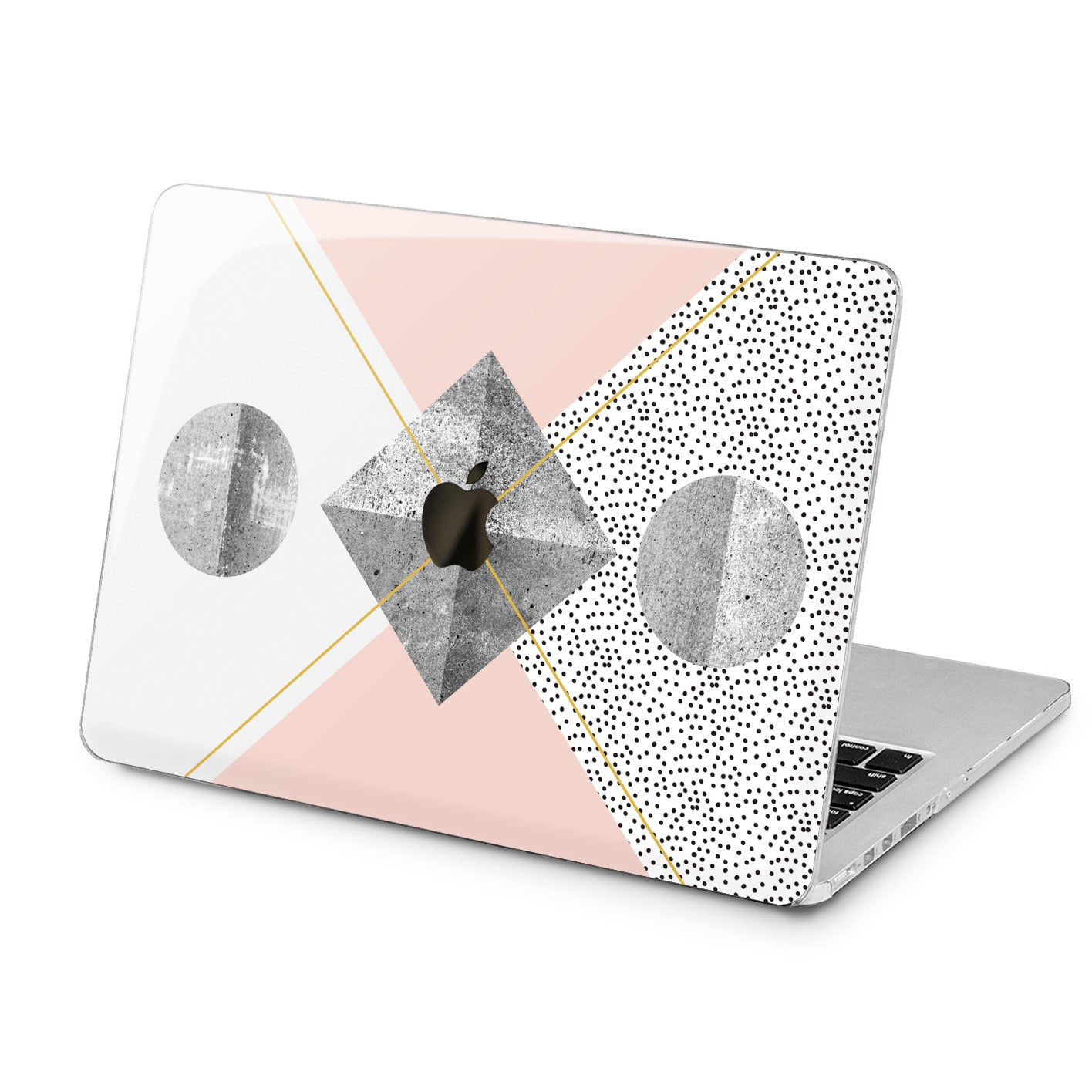 Lex Altern Lex Altern Pastel Geometry Case for your Laptop Apple Macbook.