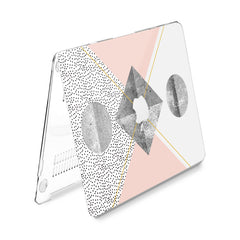 Lex Altern Hard Plastic MacBook Case Pastel Geometry