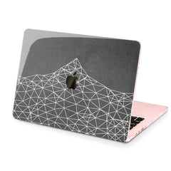Lex Altern Hard Plastic MacBook Case Abstract Mountain