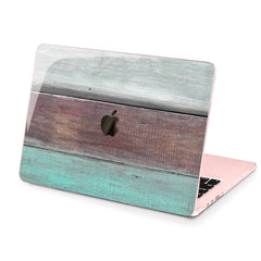 Lex Altern Hard Plastic MacBook Case Painted Wood