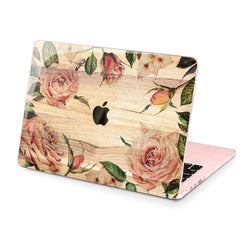Lex Altern Hard Plastic MacBook Case Rose Design