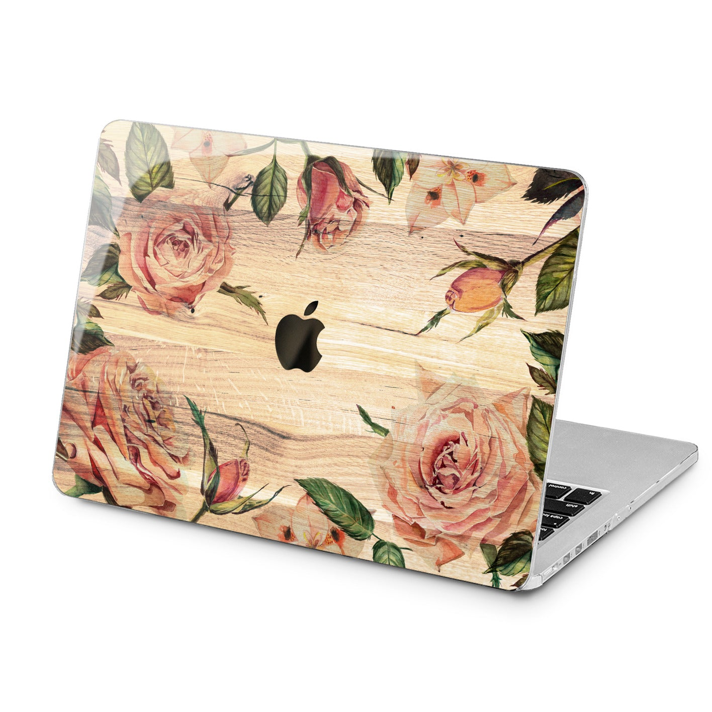 Lex Altern Lex Altern Rose Design Case for your Laptop Apple Macbook.