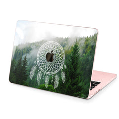Lex Altern Hard Plastic MacBook Case Forest Dreamcatcher