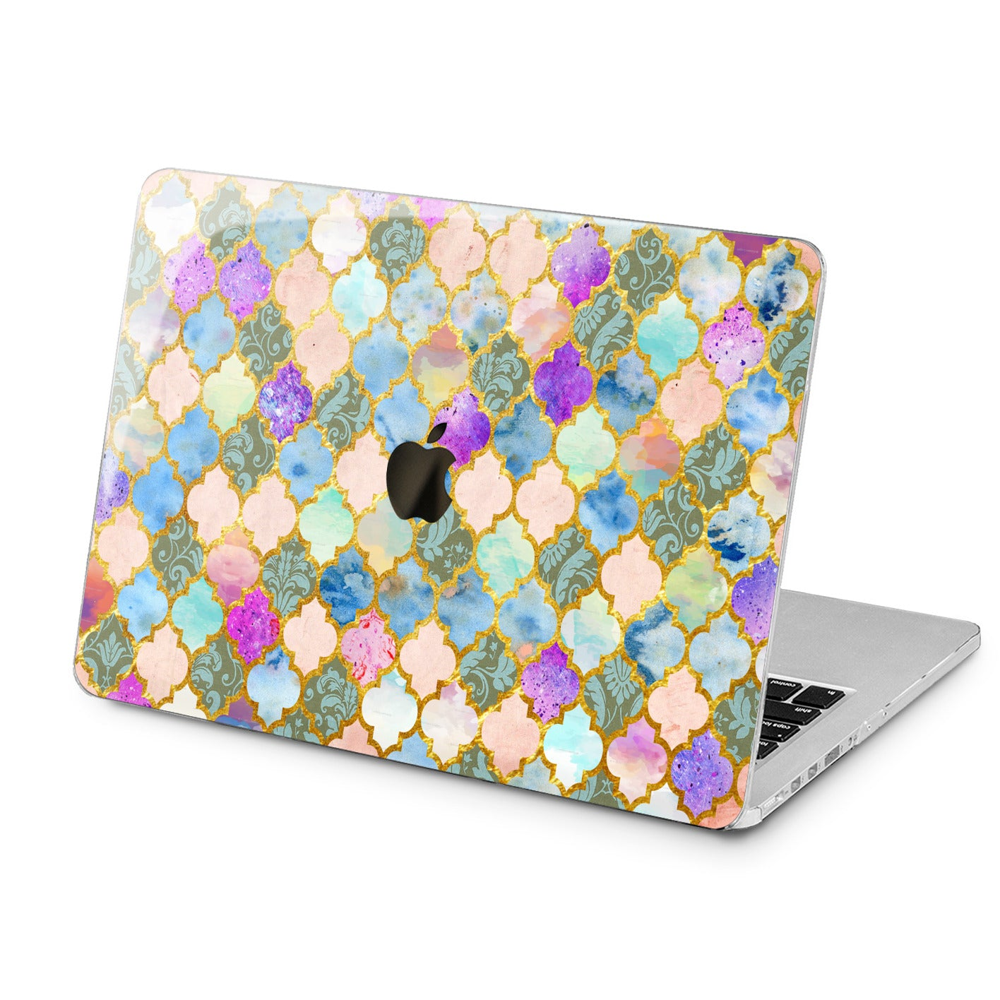Lex Altern Lex Altern Bohemian Tile Case for your Laptop Apple Macbook.