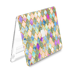 Lex Altern Hard Plastic MacBook Case Bohemian Tile