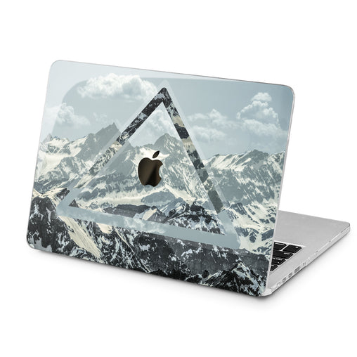 Lex Altern Lex Altern Mountain Triangle Case for your Laptop Apple Macbook.