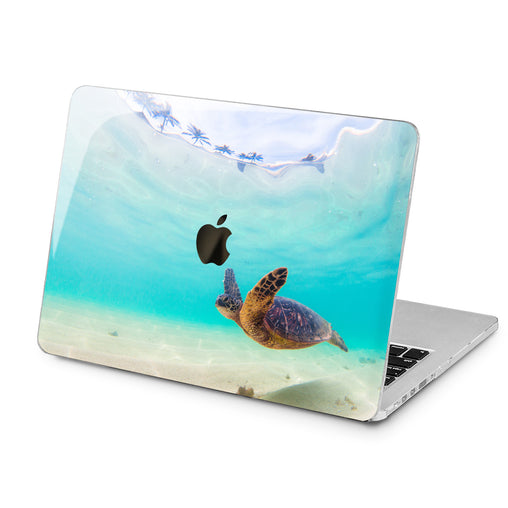 Lex Altern Lex Altern Ocean Turtle Case for your Laptop Apple Macbook.