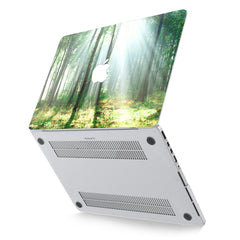 Lex Altern Hard Plastic MacBook Case Forest Light