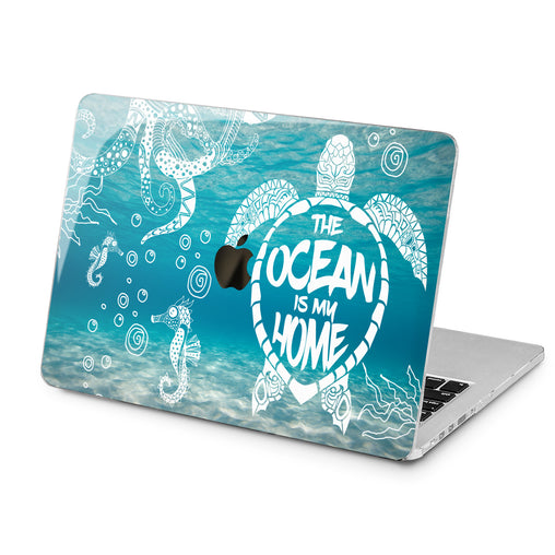 Lex Altern Lex Altern The Ocean is My Home Case for your Laptop Apple Macbook.