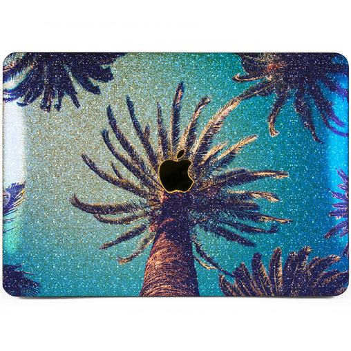 Lex Altern MacBook Glitter Case Palm Trees