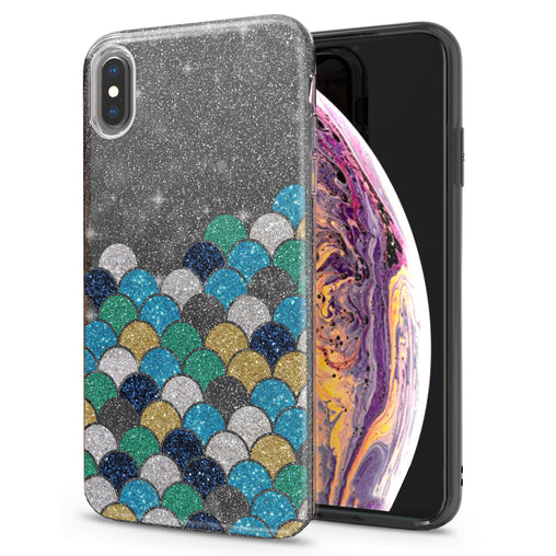 Lex Altern iPhone Glitter Case Abstract Fishscale