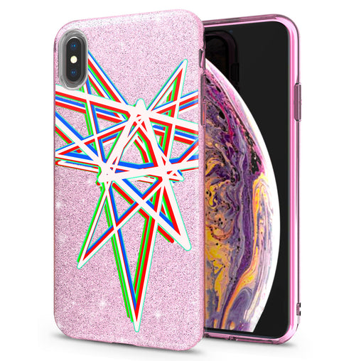 Lex Altern iPhone Glitter Case Abstract Star