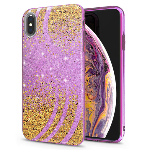 Lex Altern iPhone Glitter Case Abstract Dots