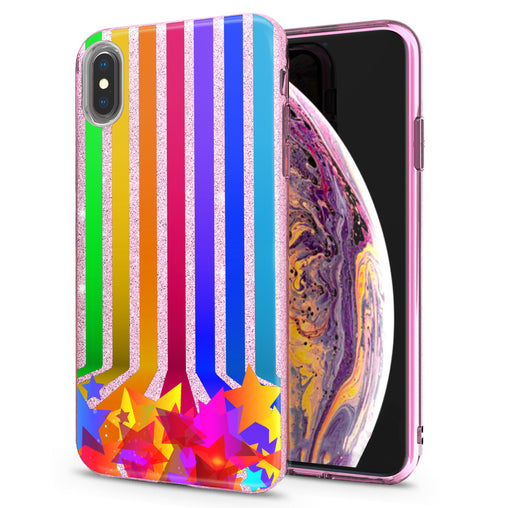 Lex Altern iPhone Glitter Case Abstract Lines