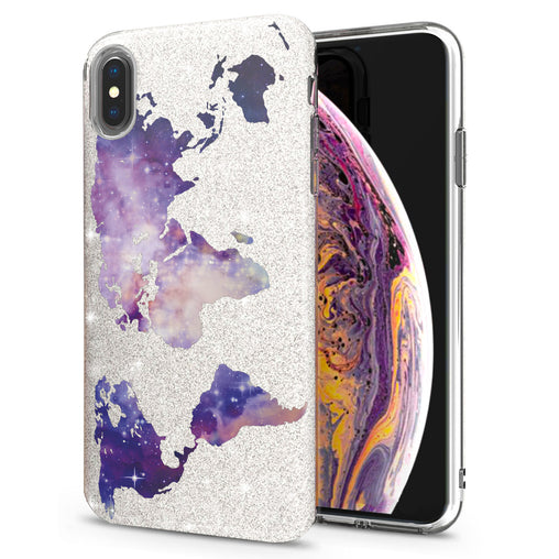 Lex Altern iPhone Glitter Case Abstract Galaxy