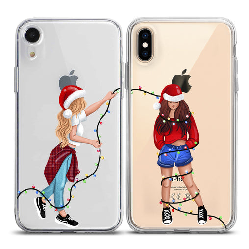 Lex Altern TPU Silicone Couple Case Fairy Lights